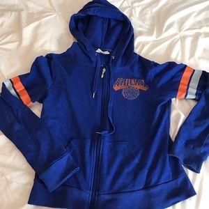 Women's NY Knicks Zip up